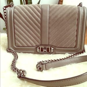 Rebecca Minkoff Love Chevron Crossbody *Excellent*